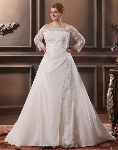 100% authentic fbe81 49125 Come scegliere un abito da sposa taglie forto | abiti da ...